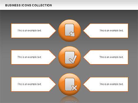 Business Icons, Slide 15, 00483, Icons — PoweredTemplate.com