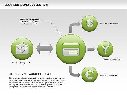 Business Icons, Slide 5, 00483, Icons — PoweredTemplate.com