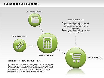 Business Icons, Slide 6, 00483, Icons — PoweredTemplate.com