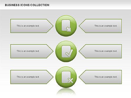 Business Icons, Slide 9, 00483, Icons — PoweredTemplate.com