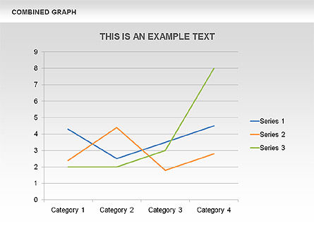 Combined Graph, Slide 3, 00486, Graph Charts — PoweredTemplate.com