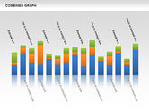 Graph Charts: Combined Graph #00486