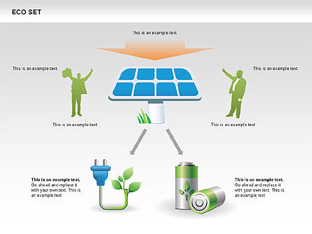 Ecology Shapes, Icons and Diagrams, Slide 12, 00487, Shapes — PoweredTemplate.com