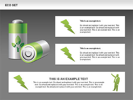 Ecology Shapes, Icons and Diagrams, Slide 13, 00487, Shapes — PoweredTemplate.com