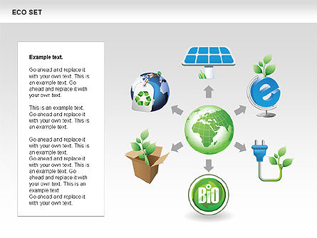 Ecology Shapes Icons and Diagrams Slide 3
