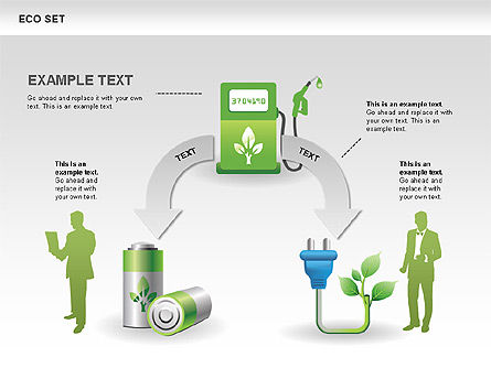 Ecology Shapes Icons and Diagrams Slide 4
