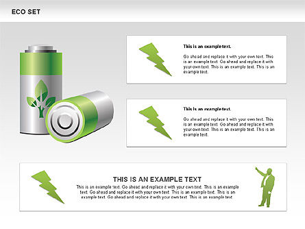 Ecology Shapes, Icons and Diagrams, Slide 6, 00487, Shapes — PoweredTemplate.com