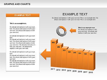 Graphs and Charts, Slide 3, 00490, Graph Charts — PoweredTemplate.com