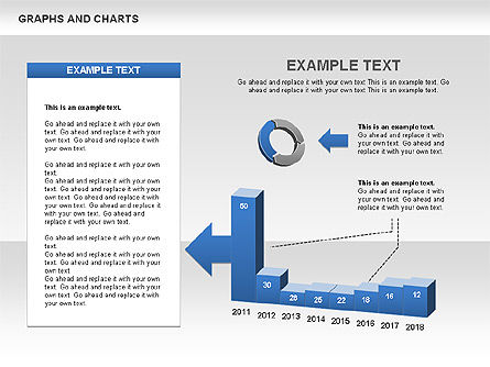 Graphs and Charts, Slide 4, 00490, Graph Charts — PoweredTemplate.com