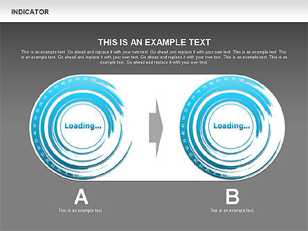 Indicator Diagrams, Slide 17, 00492, Stage Diagrams — PoweredTemplate.com