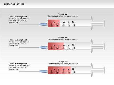 Medical Charts and Shapes Slide 2