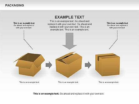 Packaging Diagrams, Slide 10, 00498, Process Diagrams — PoweredTemplate.com
