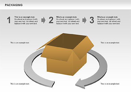 Packaging Diagrams, Slide 11, 00498, Process Diagrams — PoweredTemplate.com