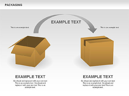 Packaging Diagrams, Slide 13, 00498, Process Diagrams — PoweredTemplate.com