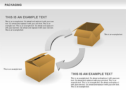 Packaging Diagrams, Slide 14, 00498, Process Diagrams — PoweredTemplate.com
