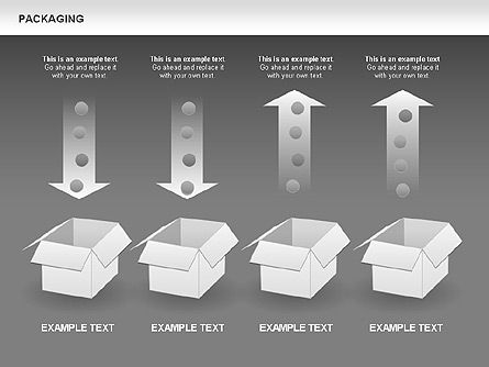Packaging Diagrams, Slide 15, 00498, Process Diagrams — PoweredTemplate.com