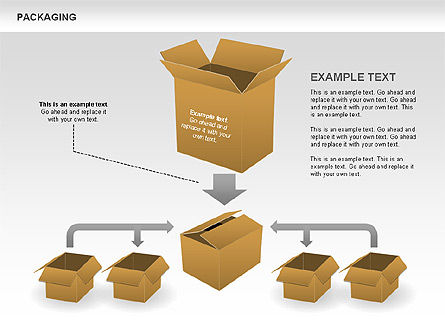 Packaging Diagrams, Slide 2, 00498, Process Diagrams — PoweredTemplate.com