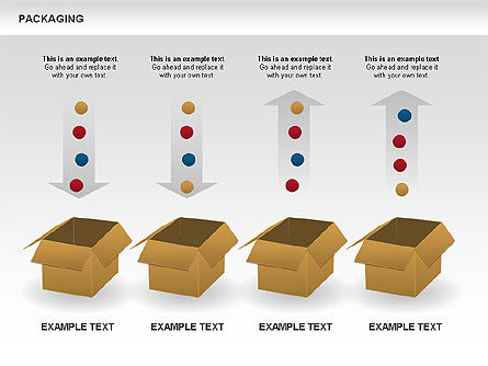 Packaging Diagrams, Slide 8, 00498, Process Diagrams — PoweredTemplate.com