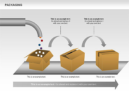 Packaging Diagrams, Slide 9, 00498, Process Diagrams — PoweredTemplate.com