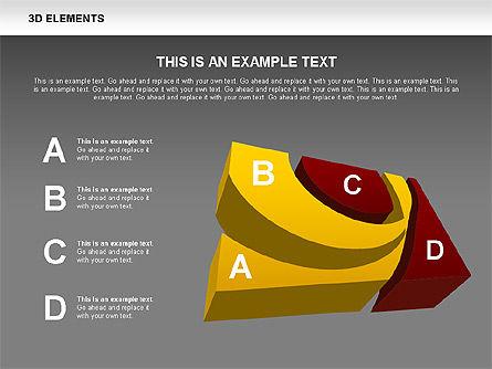 3D RSS Shapes, Slide 14, 00506, Shapes — PoweredTemplate.com