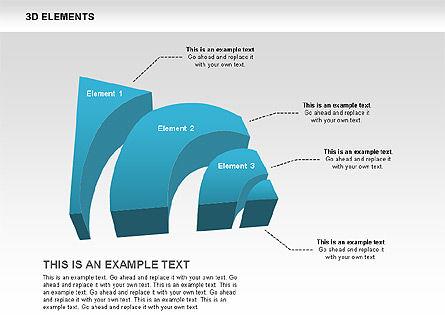 3D RSS Shapes, Slide 6, 00506, Shapes — PoweredTemplate.com