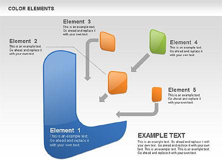 Color Shapes, Slide 3, 00509, Shapes — PoweredTemplate.com