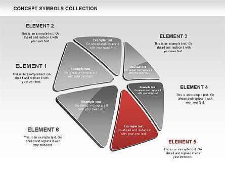 Triangle Concept Shapes, Slide 5, 00511, Shapes — PoweredTemplate.com