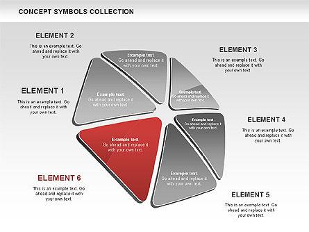 Triangle Concept Shapes, Slide 6, 00511, Shapes — PoweredTemplate.com