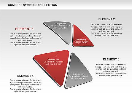 Triangle Concept Shapes, Slide 7, 00511, Shapes — PoweredTemplate.com