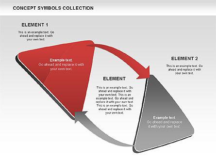 Triangle Concept Shapes, Slide 8, 00511, Shapes — PoweredTemplate.com