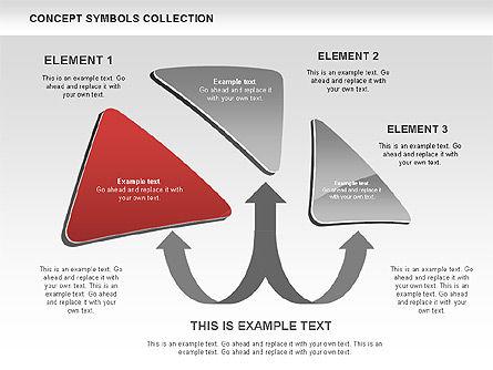 Triangle Concept Shapes, Slide 9, 00511, Shapes — PoweredTemplate.com