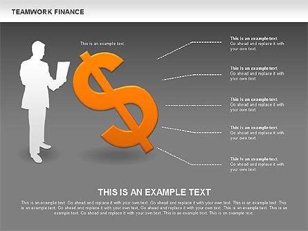 Teamwork Financial Diagrams, Slide 14, 00513, Stage Diagrams — PoweredTemplate.com