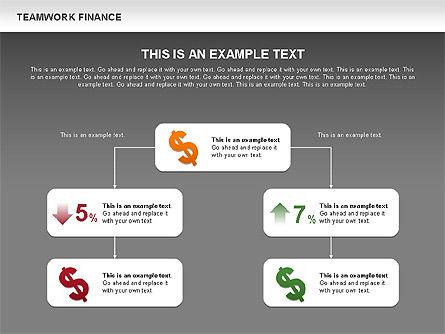 Teamwork Financial Diagrams, Slide 15, 00513, Stage Diagrams — PoweredTemplate.com