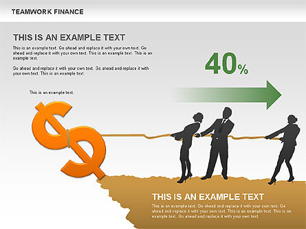 Teamwork Financial Diagrams, Slide 2, 00513, Stage Diagrams — PoweredTemplate.com