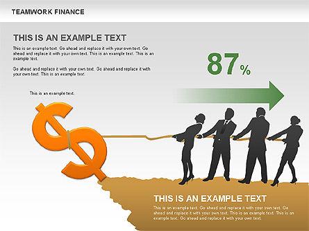 Teamwork Financial Diagrams Slide 3
