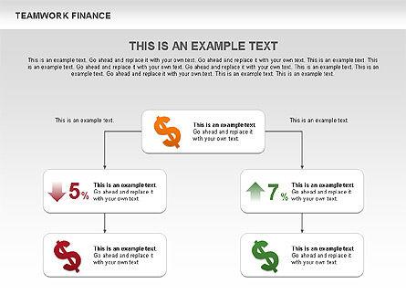 Teamwork Financial Diagrams, Slide 7, 00513, Stage Diagrams — PoweredTemplate.com