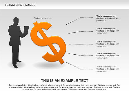 Teamwork Financial Diagrams, Slide 8, 00513, Stage Diagrams — PoweredTemplate.com