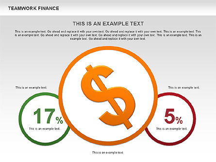 Teamwork Financial Diagrams, Slide 9, 00513, Stage Diagrams — PoweredTemplate.com
