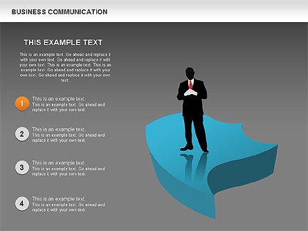 Business Diagrams, Slide 10, 00517, Shapes — PoweredTemplate.com