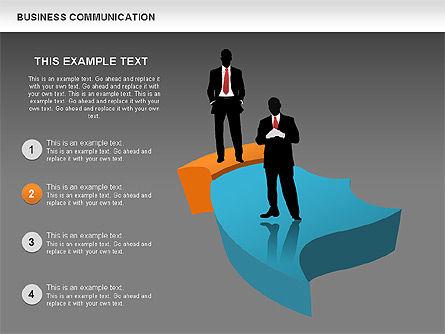 Business Diagrams, Slide 11, 00517, Shapes — PoweredTemplate.com