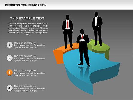 Business Diagrams, Slide 12, 00517, Shapes — PoweredTemplate.com