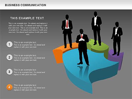 Business Diagrams, Slide 13, 00517, Shapes — PoweredTemplate.com