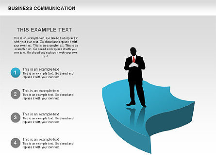 Business Diagrams, Slide 2, 00517, Shapes — PoweredTemplate.com