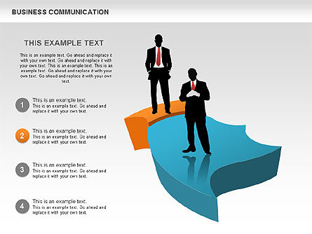 Business Diagrams, Slide 3, 00517, Shapes — PoweredTemplate.com