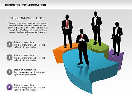 Business Diagrams, Slide 5, 00517, Shapes — PoweredTemplate.com