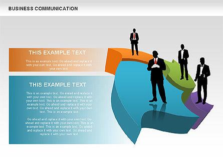 Business Diagrams, Slide 7, 00517, Shapes — PoweredTemplate.com