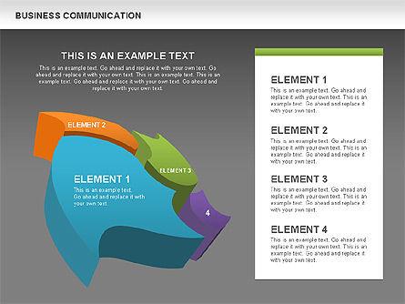 Business Diagrams, Slide 9, 00517, Shapes — PoweredTemplate.com