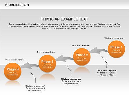 Process Chart Toolbox, Slide 10, 00523, Process Diagrams — PoweredTemplate.com