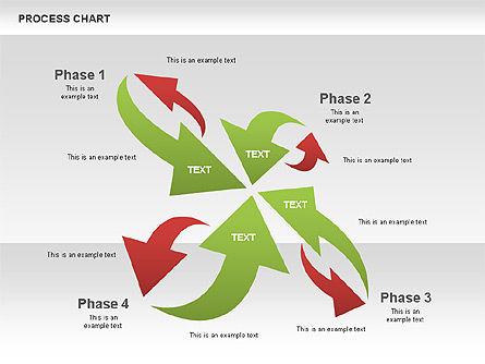 Process Chart Toolbox, Slide 11, 00523, Process Diagrams — PoweredTemplate.com