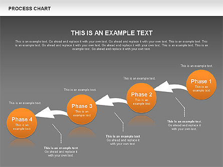Process Chart Toolbox, Slide 13, 00523, Process Diagrams — PoweredTemplate.com